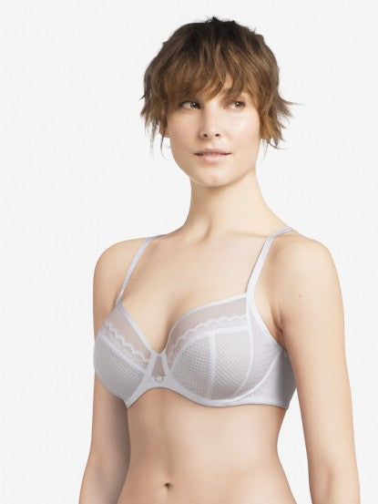 Chantelle Parisian Allure Bra - White
