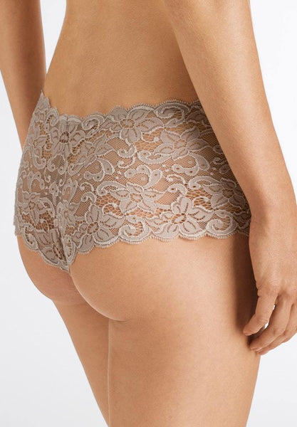 Moments Lace Briefs - Sahara