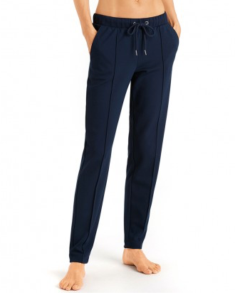 Hanro Pure Comfort Long Pants - Navy