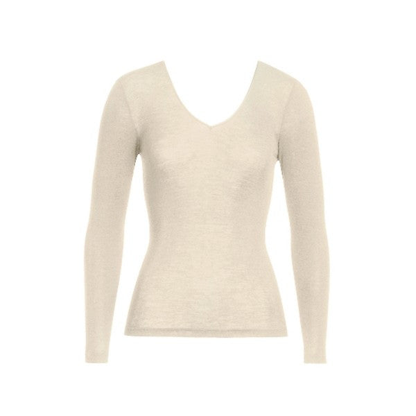Woolen Silk Long-Sleeved Undershirt