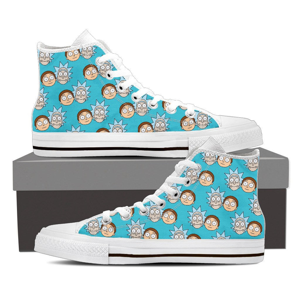Rick Morty Men's Canvas Shoes