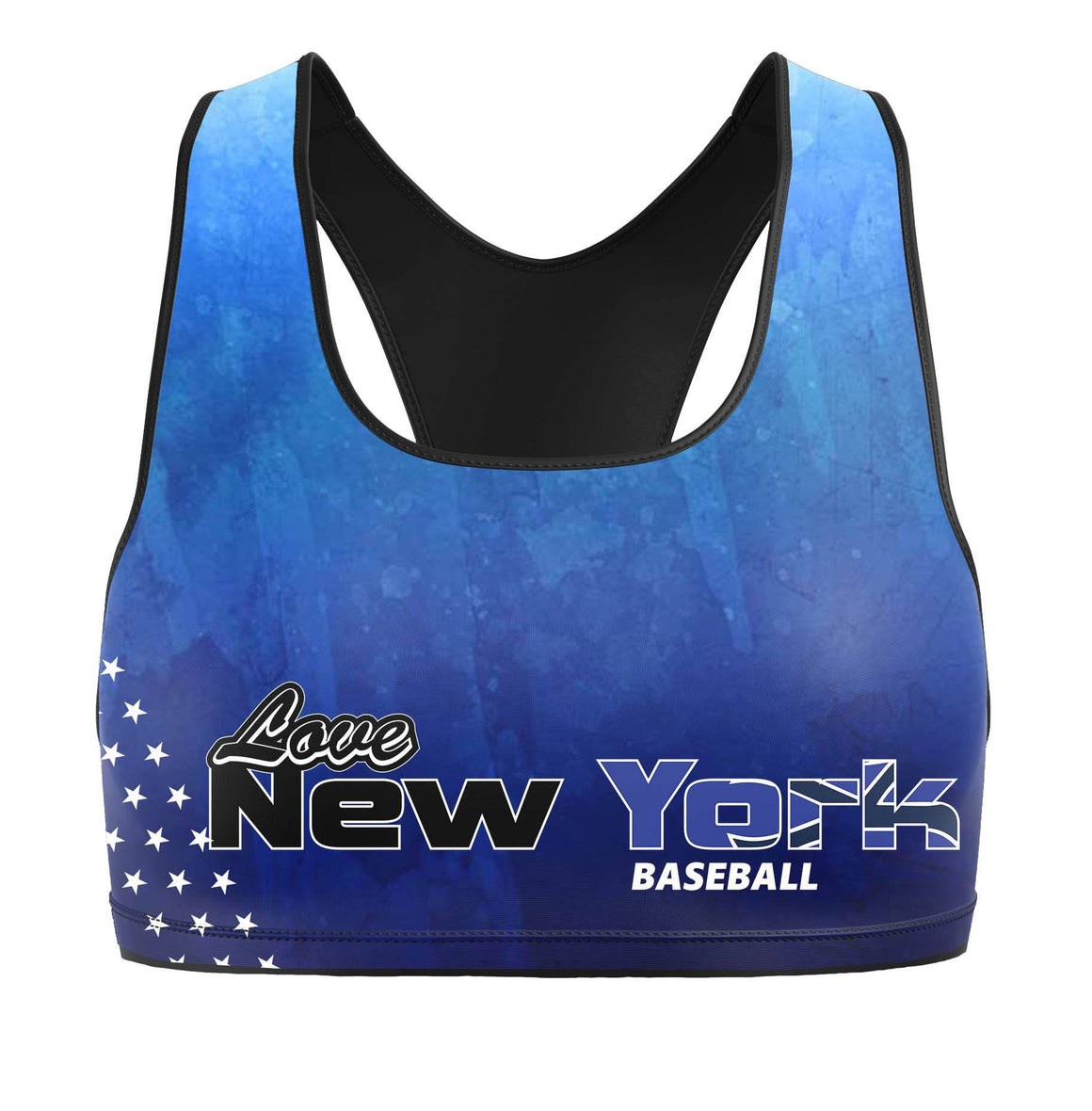 New York Yanks Premium Sports Bra