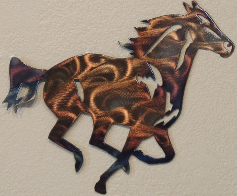 Horse Wall Art Reflections In Metal
