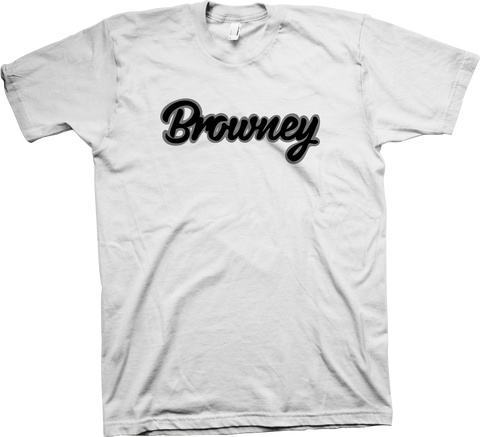 Browney White T-Shirt