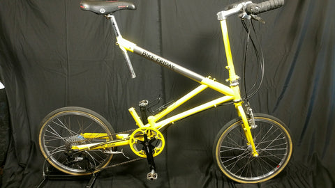 Bike Friday, Air Glide, yellow,