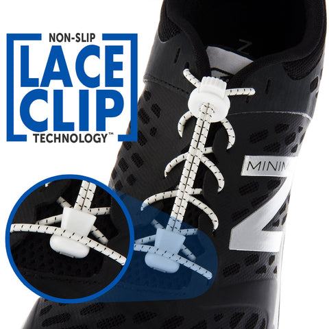 AKTIVX SPORTS LACES Non Slip Lace Clip Technology