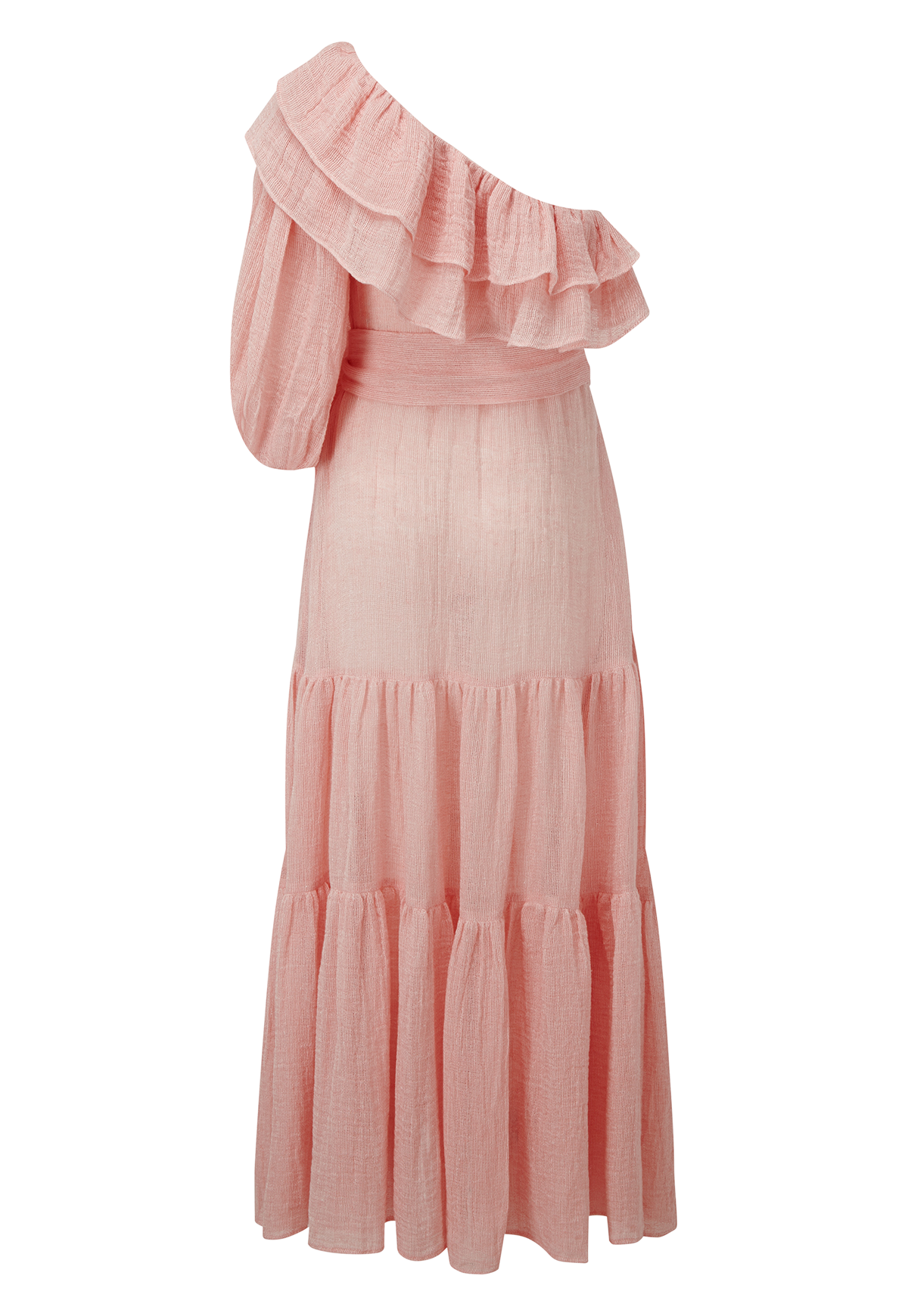 ARDEN PINK CHIOS GAUZE DRESS