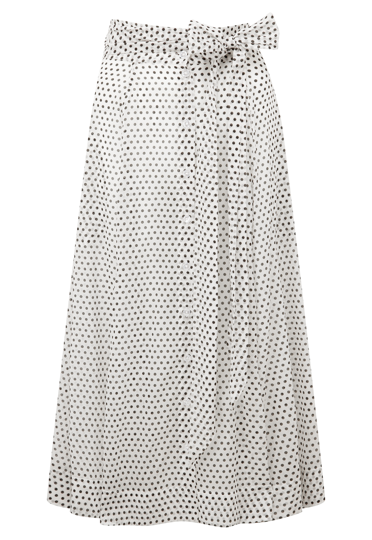 af6370b57ee32 WHITE POLKA DOT BEACH SKIRT – Lisa Marie Fernandez