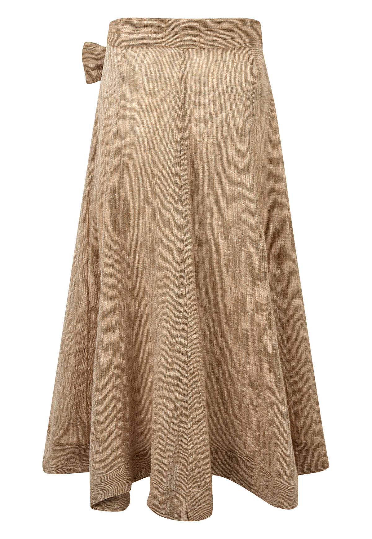 DIANA NATURAL CHIOS GAUZE SKIRT