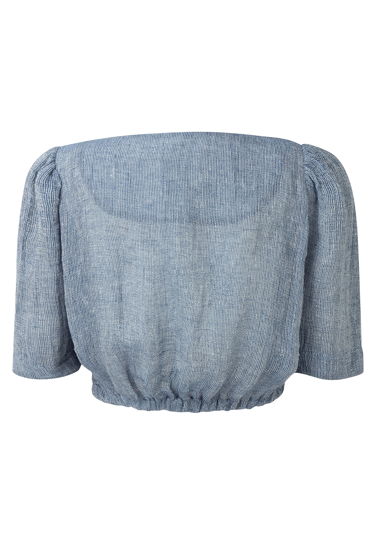 DIANA BLUE CHIOS GAUZE TOP