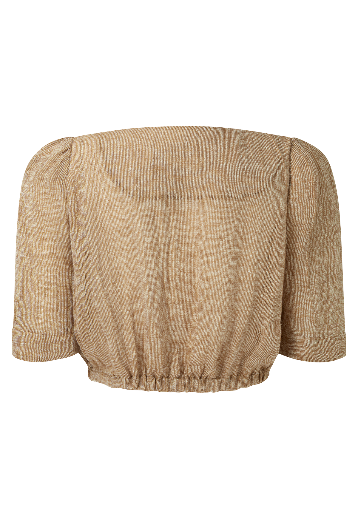 DIANA NATURAL CHIOS GAUZE TOP