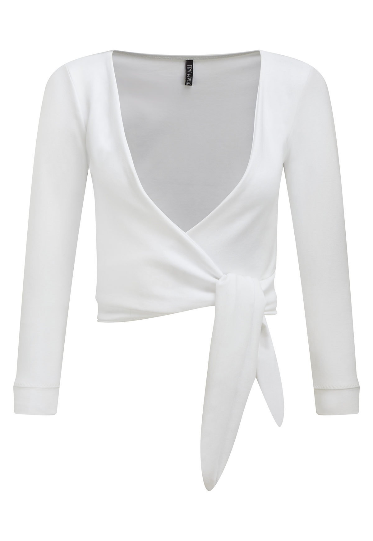 DREE WHITE SPORT WRAP TOP