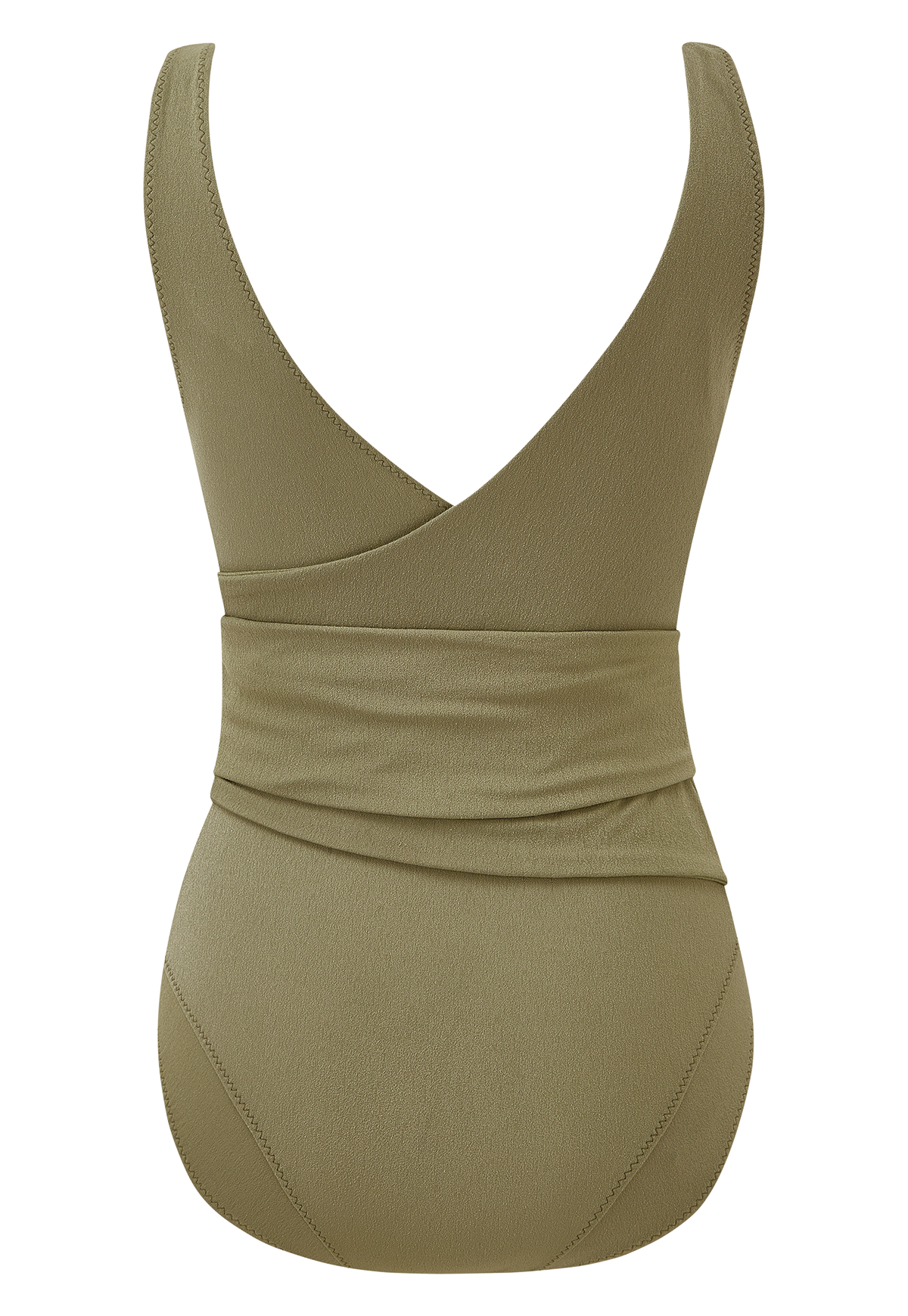 DREE LOUISE OLIVE CREPE MAILLOT