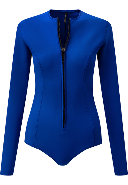 FARRAH ROYAL NEOPRENE MAILLOT