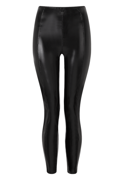 KARLIE BLACK PVC LEGGING