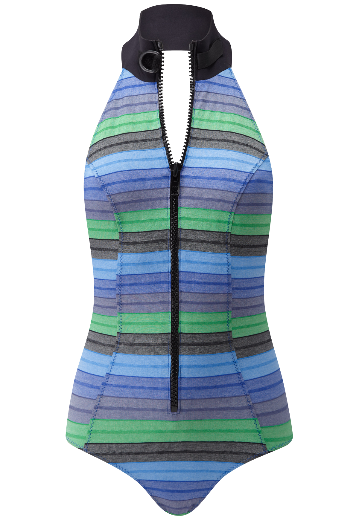 LISA MARIE STRIPED MAILLOT