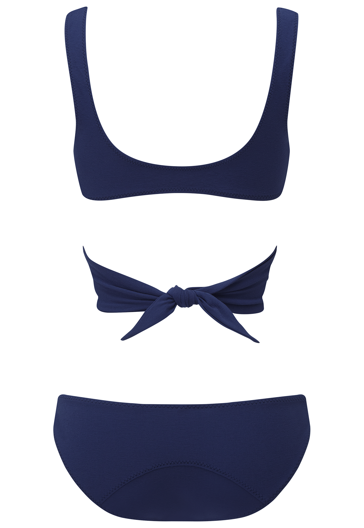MARIE-LOUISE FADED NAVY BIKINI