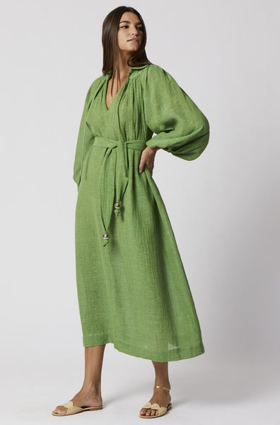 POET GREEN ORGANIC GAUZE DRESS