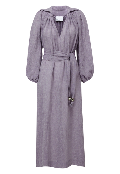 POET LAVENDER ORGANIC GAUZE DRESS