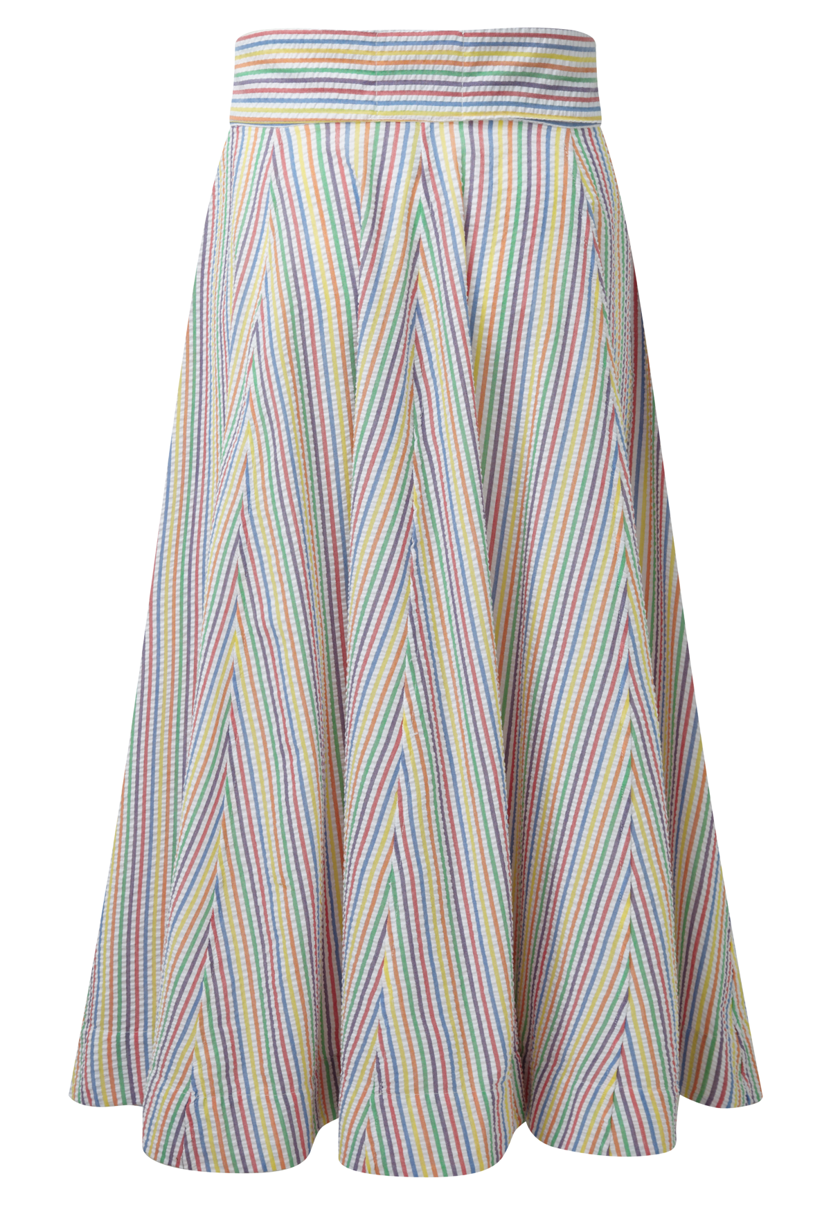SEERSUCKER BEACH SKIRT