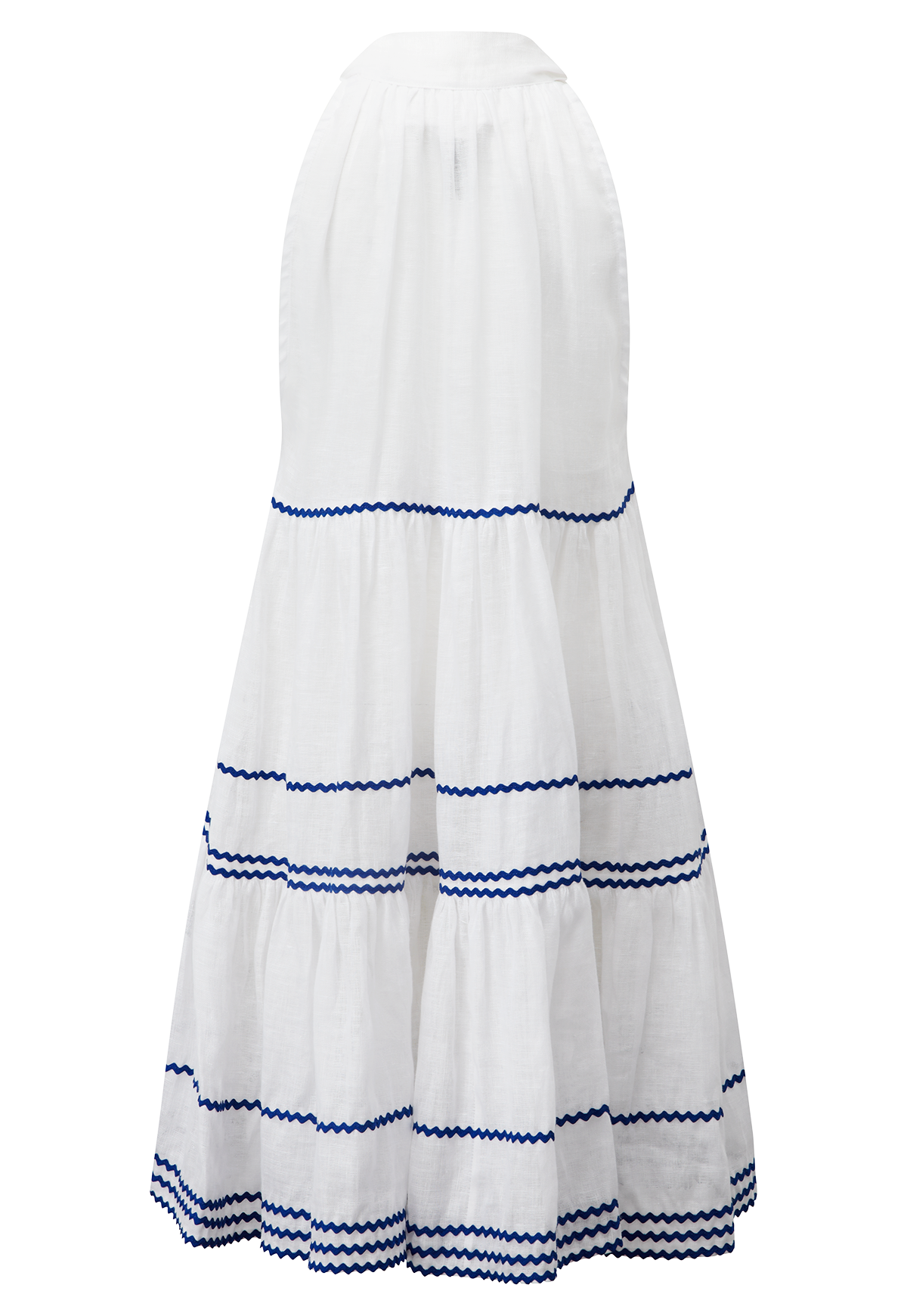 RIC RAC BABY DOLL SHEER LINEN DRESS