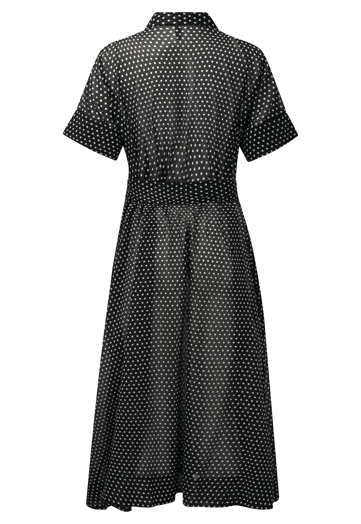 93e125e787b BLACK POLKA DOT SHIRT DRESS – Lisa Marie Fernandez