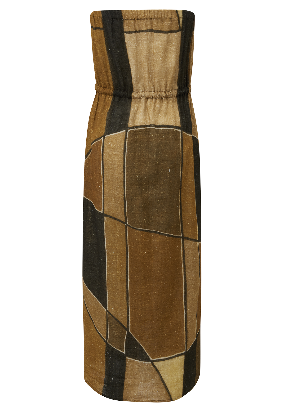 VICTOR AFRICAN COTTON DRESS