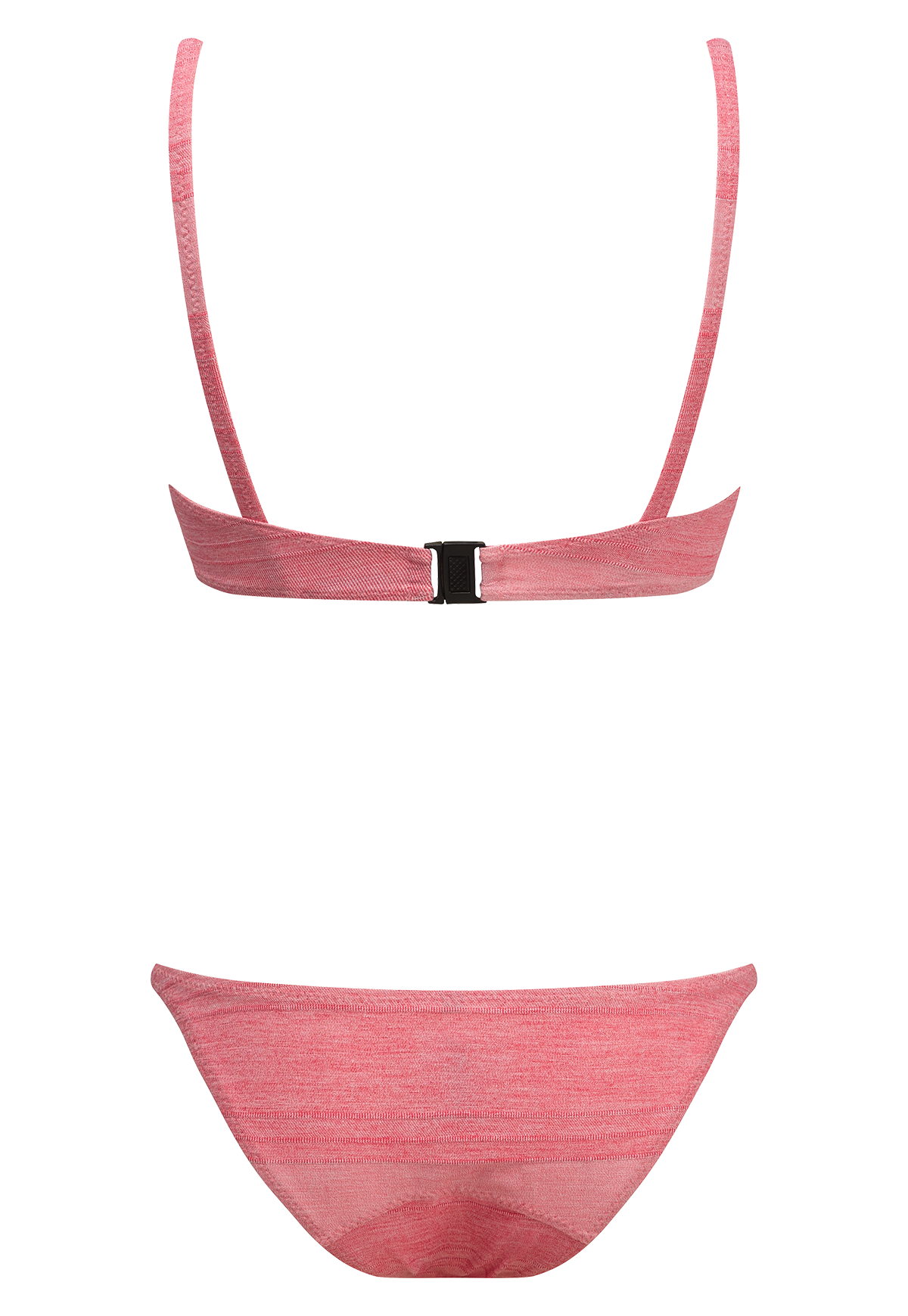 YASMIN PINK STRIPED COTTON BIKINI