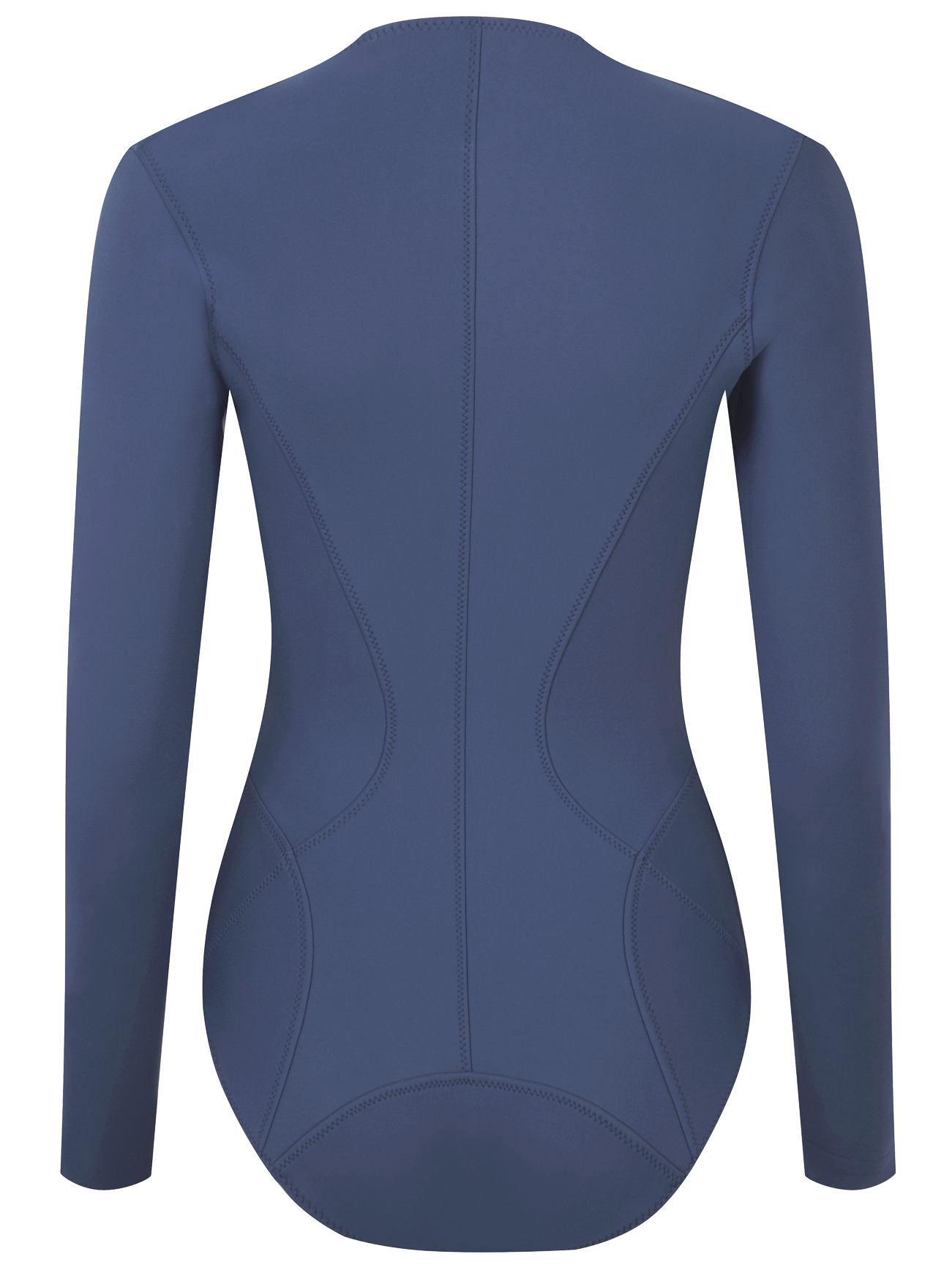 FARRAH BLUE LONG NEOPRENE MAILLOT