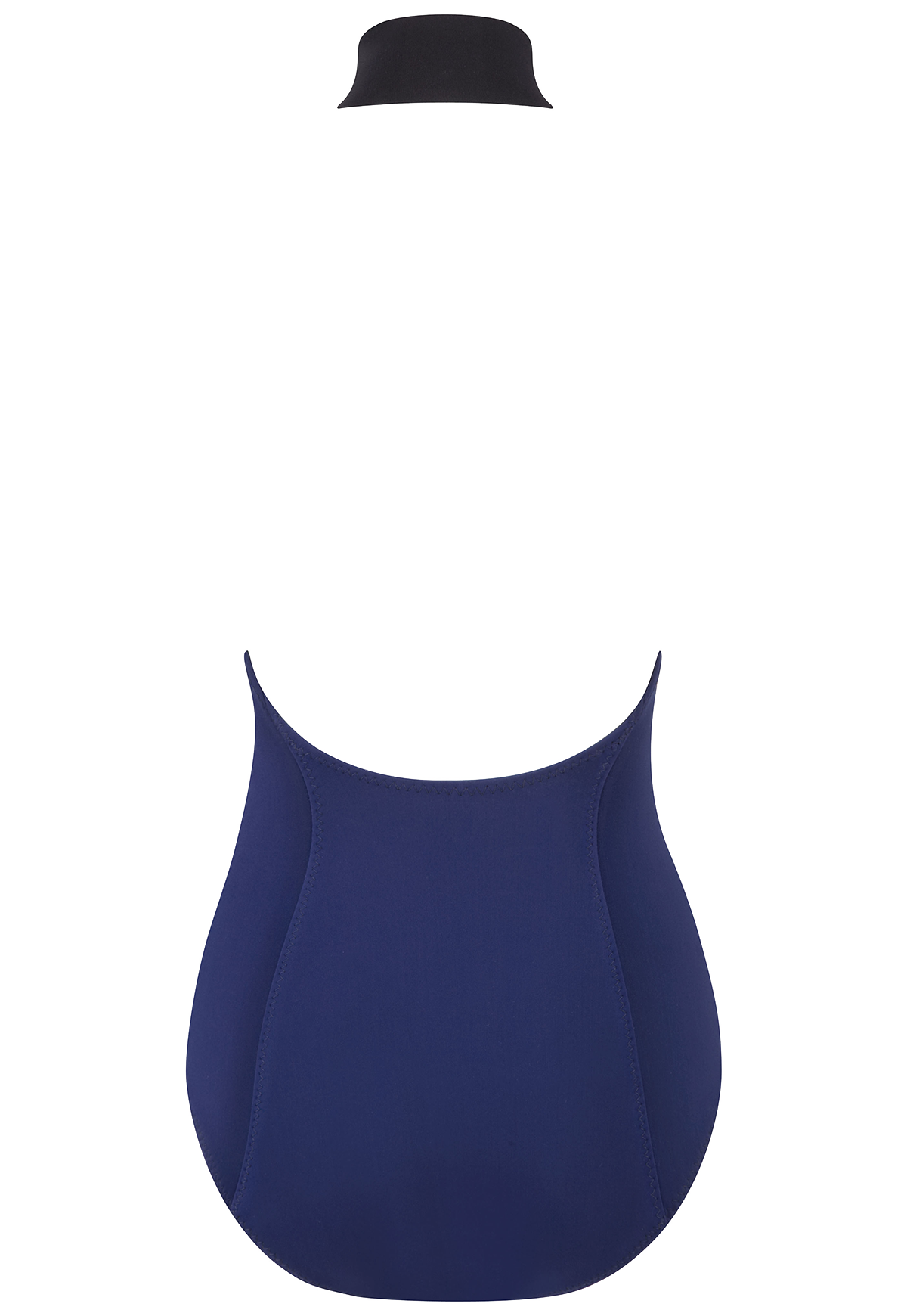 LISA MARIE NAVY BONDED MAILLOT