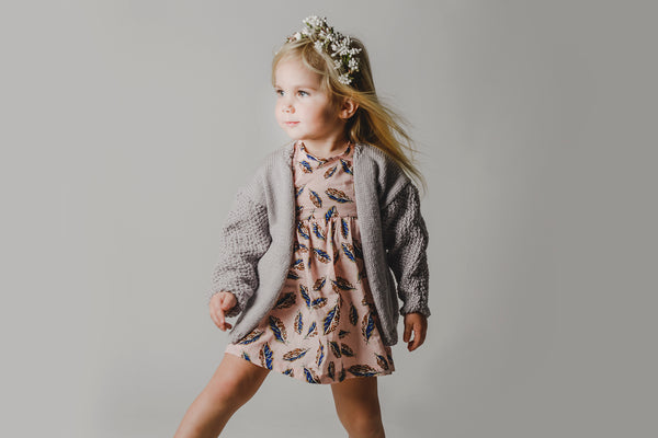 'Aurelia' Dress - Cawi Kids and co.