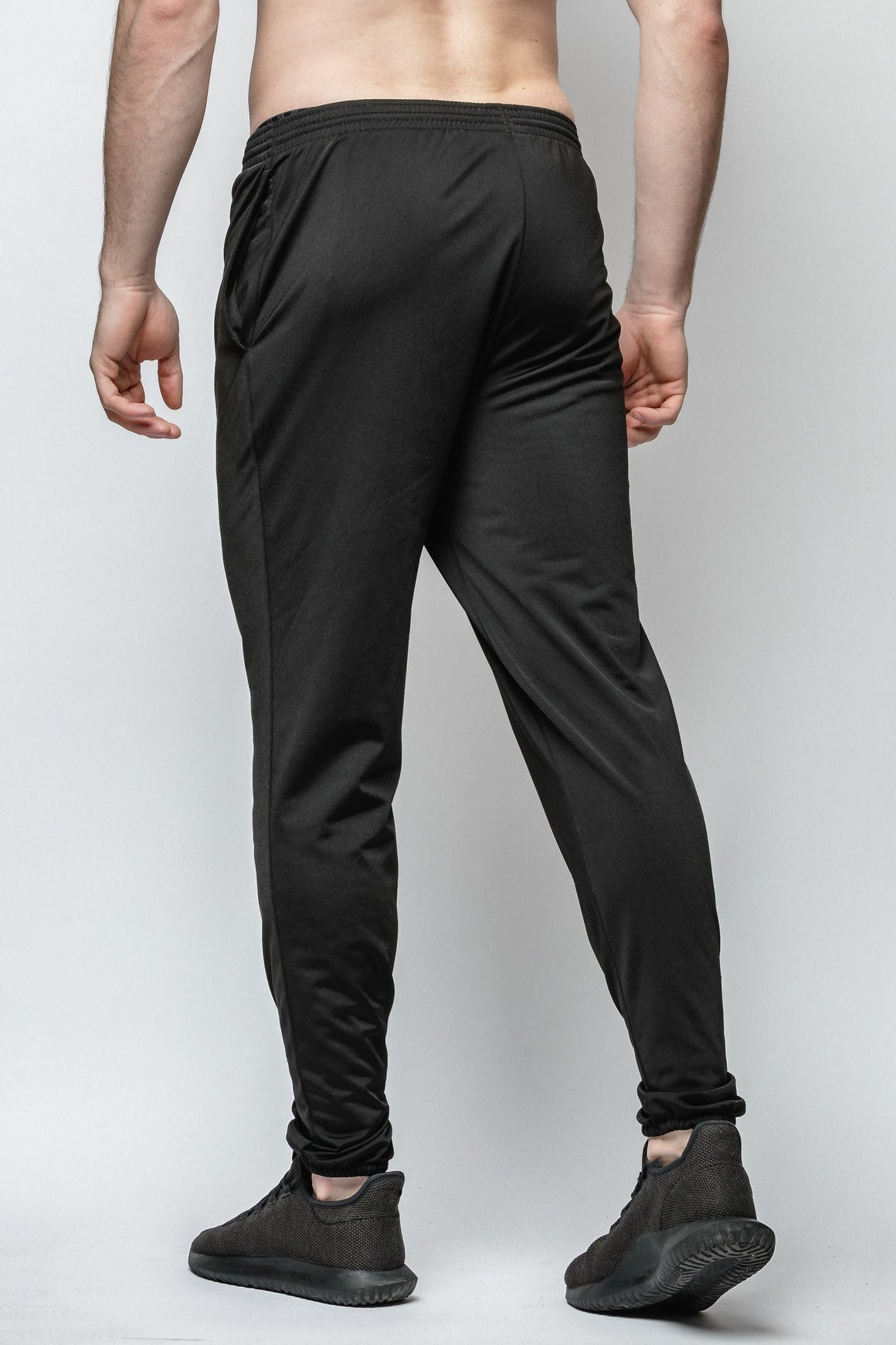PRE-ORDER - Black Hybrid Joggers - Greatness Within