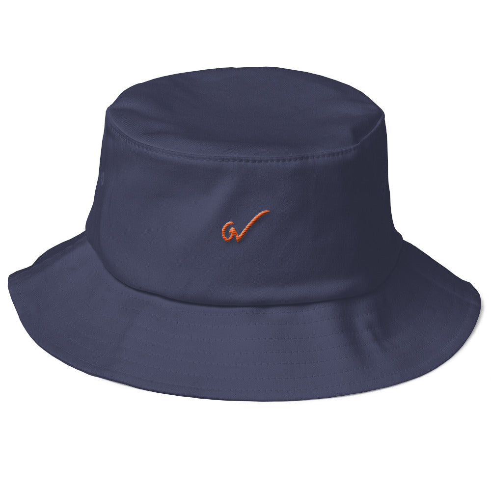 GW BUCKET HAT - Blue & Orange - Greatness Within