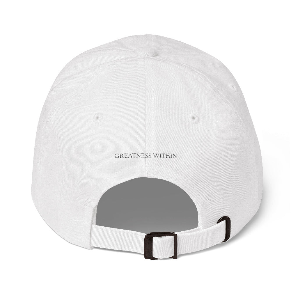 GW - Hat (White) - Greatness Within