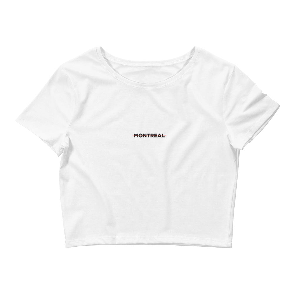 GW Montreal - Crop Top (White) - Greatness Within