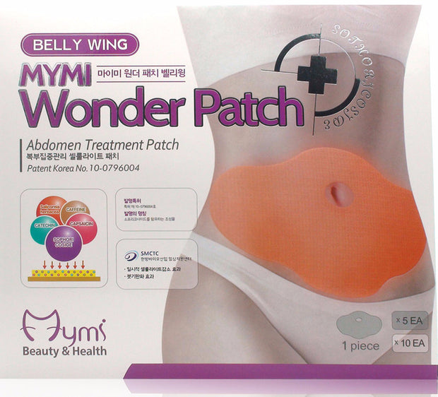 MYMI Wonder Slimming Patch Belly Wing Korean Beauty [5pcs]