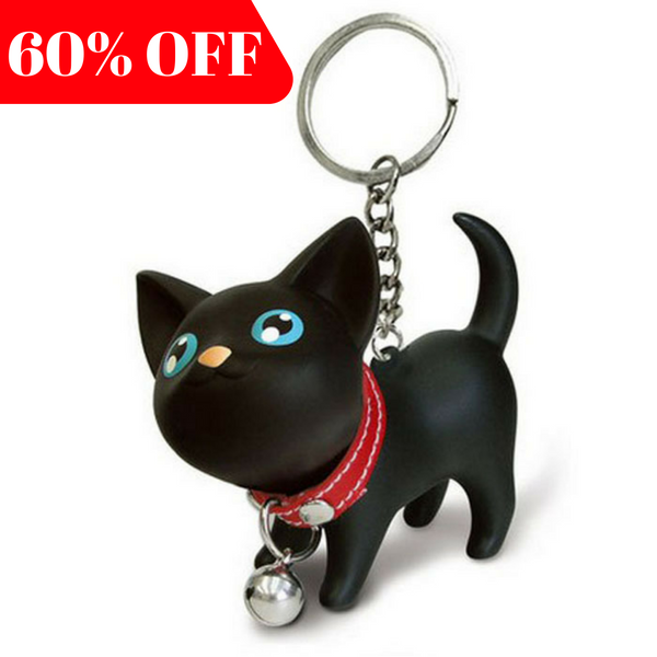 Black Cat Keychain - Special