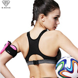 B.BANG Women Yoga Bra Sports Bra for Running Gym Fitness Athletic Bras Padded Push Up Tank Tops For Girls ropa deportiva S-XL