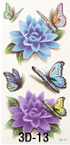 Butterfly DIY Stickers Temporary Tattoo