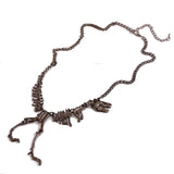 T-Rex Skull & Bones Necklace