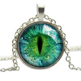 Cat Eye Pendant Necklace - Special