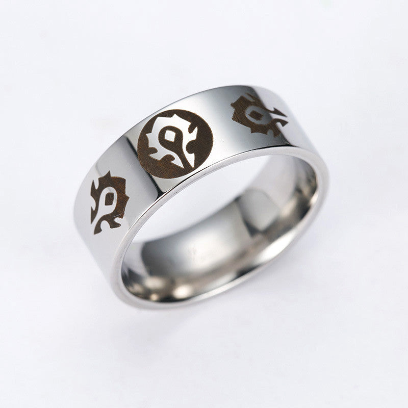 World of Warcraft Alliance Ring GEMMOJO