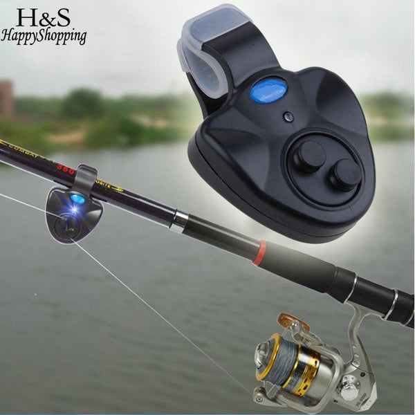 CLIP ON - FISHING ALARM WITH LED LIGHT & SOUND