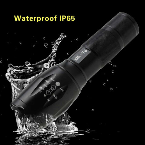 Waterproof Zoomable Flashlight