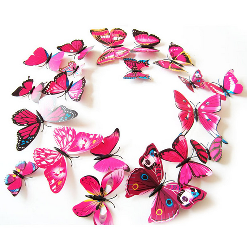 Magnet Butterfly Wall Stickers