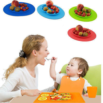 Smiling Plate Mat (Mini Oval)