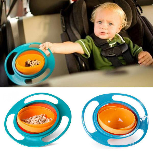 Spill-Proof Feeding Bowl for Toddler