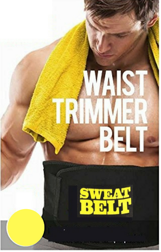 Adjustable Waist Trainer Sweat Belt For Men