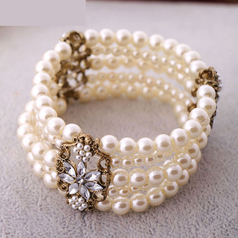 Pearl Multi-layer Bracelet