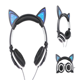 Cute Cat Ear Headphone